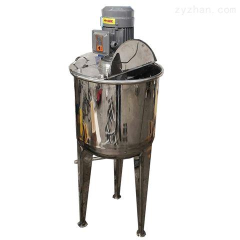 1000L不锈钢开口立式乳液乳化罐