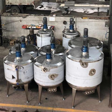 不锈钢电加热液体搅拌缸 立式洗洁精搅拌罐