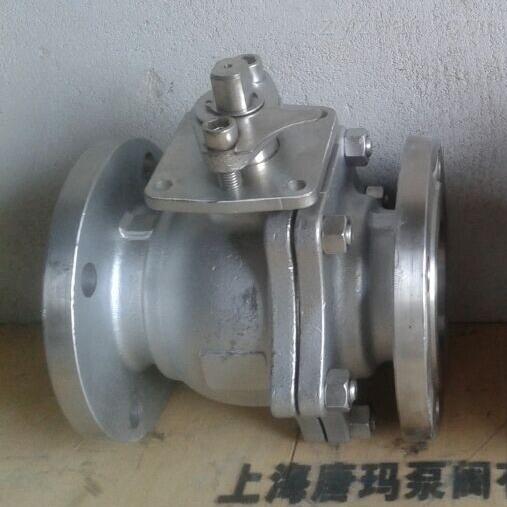 上海不锈钢法兰球阀