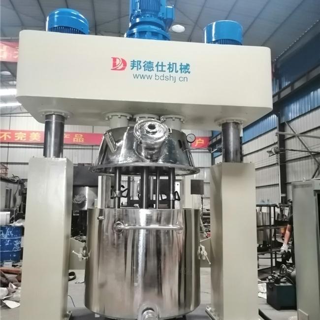 广东强力分散机 密封胶专用生产设备