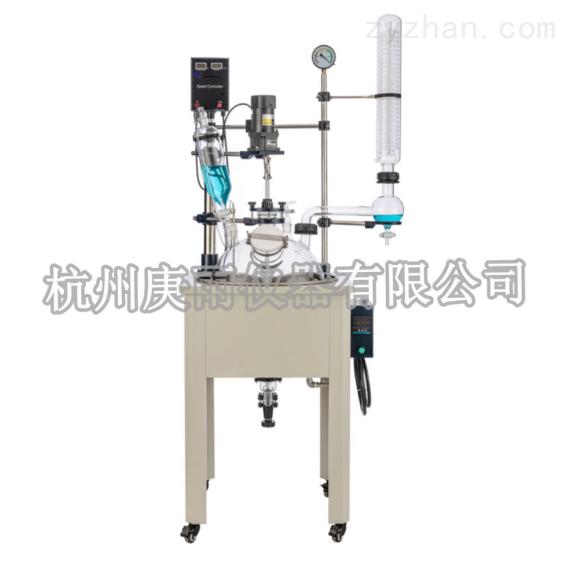 GDF-20L单层玻璃反应釜厂家