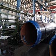 管径478热力供暖防腐聚氨酯无缝保温管
