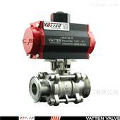 VT2BDF33A快装不锈钢气动卫生级球阀
