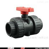 VT2CHU53GUPVC材质手动塑料球阀,污水手动排放阀