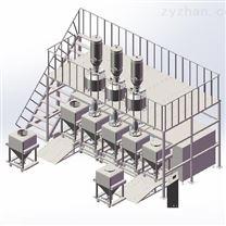 高精度自動配料系統