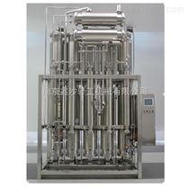 南京電加熱雙管板內螺旋多效蒸餾水機