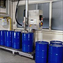 輸送線式半自動大桶灌裝機