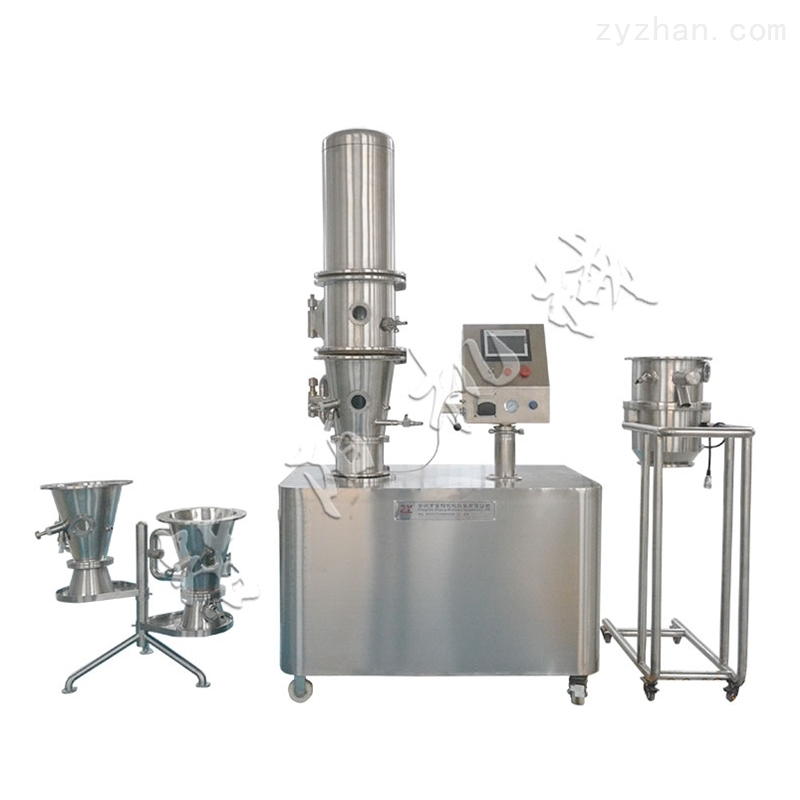 多功能流化制粒包衣实验机