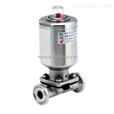 KDV-P320气动隔膜阀-不锈钢气缸