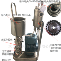 熱敏涂料管線式高剪切分散機