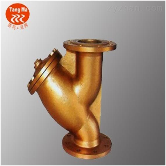 上海黄铜法兰Y型过滤器