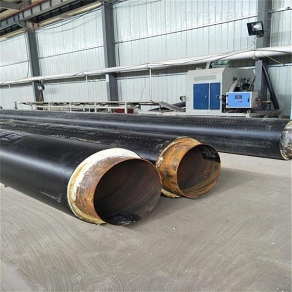 377*7聚氨酯直埋式蒸汽架空保温管道
