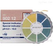 pH 8.0-10.0 单色pH试纸 3卷/盒