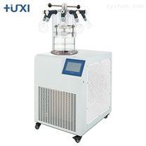 上海沪析HXLG-12-50DG立式压盖多歧管冷冻干燥机