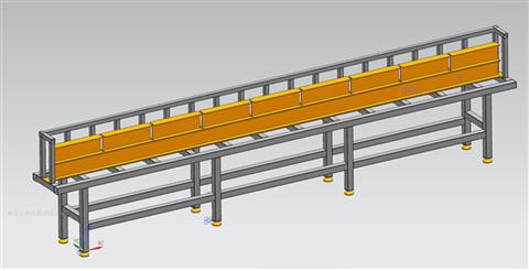 鋼管支架構件直線度檢測儀ZG-101青島眾邦