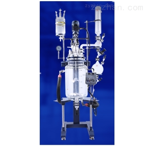 新型托盘型双层玻璃反应釜