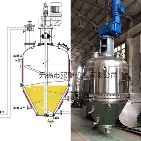 全密闭反应结晶过滤干燥多功能设备