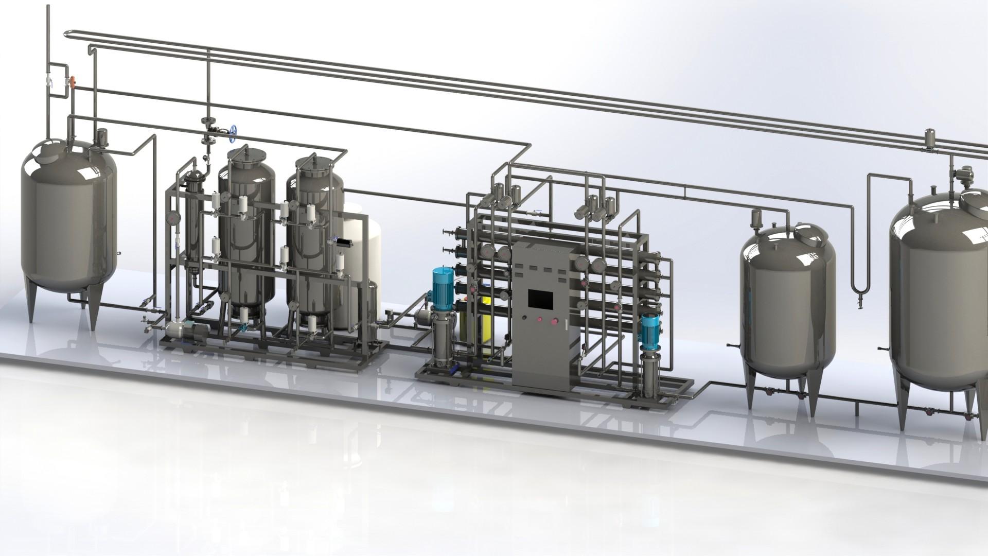 纯化水设备中的传输件会不会影响水质?