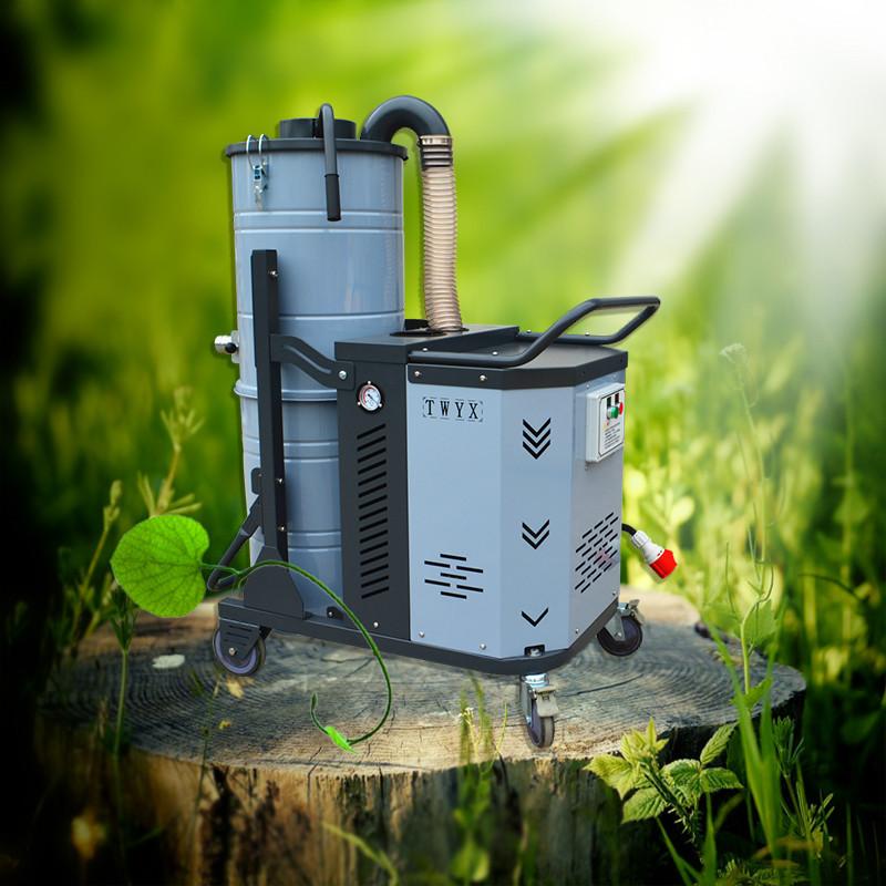 合肥环保工业吸尘器 粉尘收集移动式工业吸尘器 车间粉尘吸尘机 移动吸尘器 工业移动吸尘器示例图2